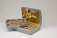 VIP collection / Chest box / Standard (40 dates) / Textured silver